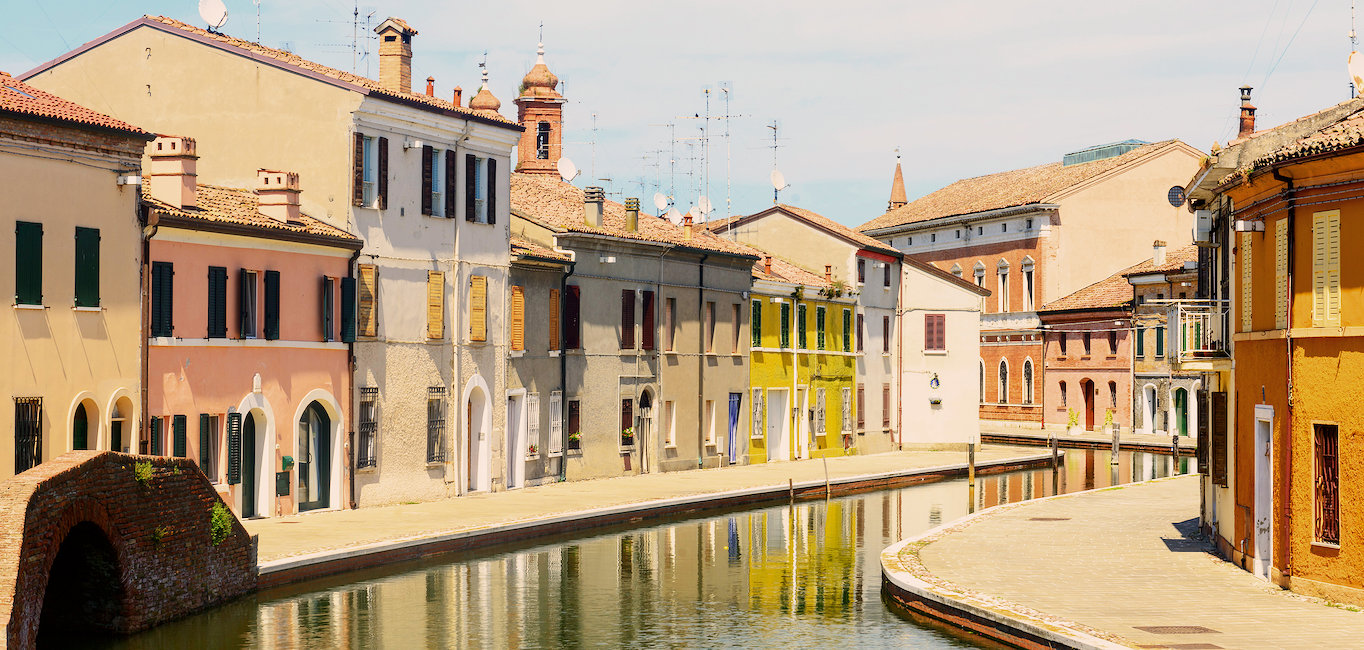 Casco antiguo de Ferrara