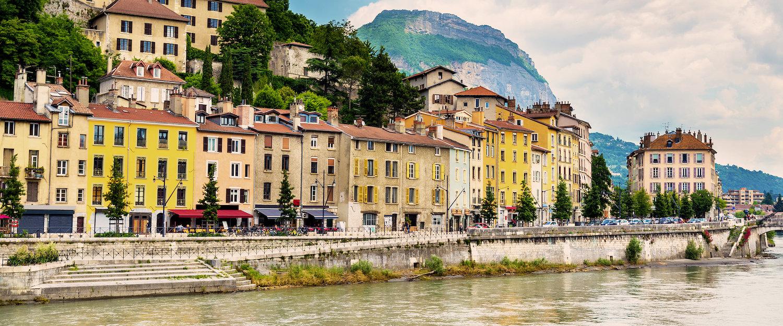 Vue sur Ville, Isère