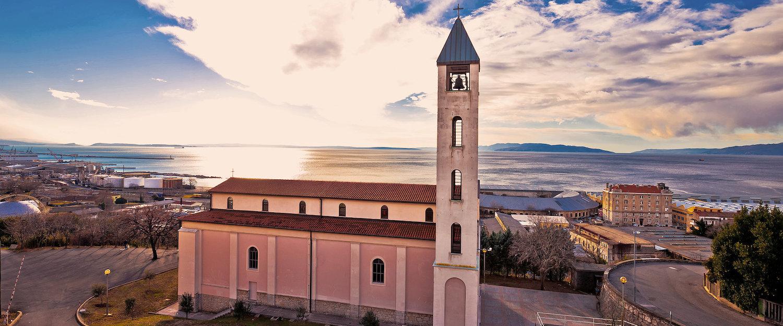 Sonnenuntergang in Rijeka
