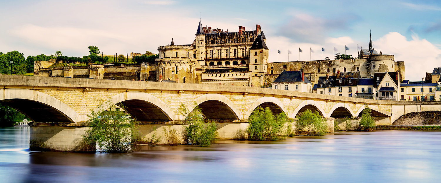 Amboise Castle in the Loire Valley