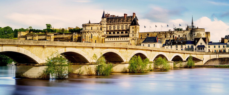 Schloss Amboise im Loire-Tal