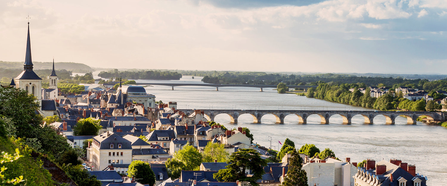 Fantastic view over the Loire river