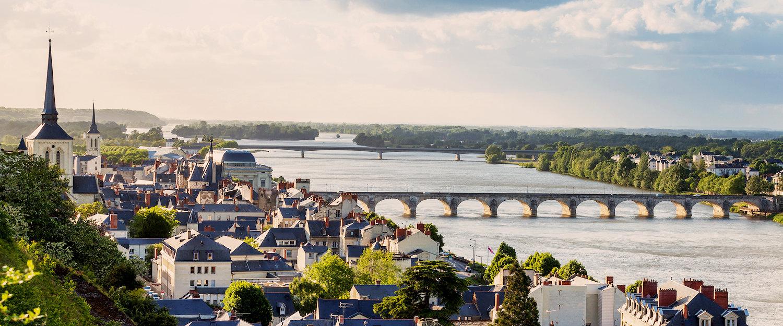 Traumhafter Ausblick über die Loire