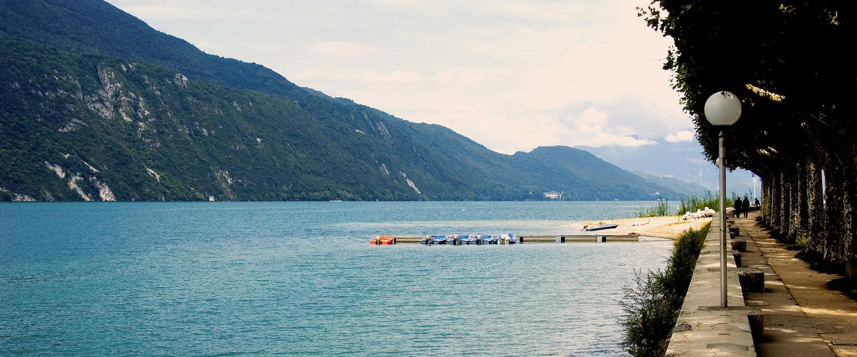 Vue sur le lac, Aix-les-Bains