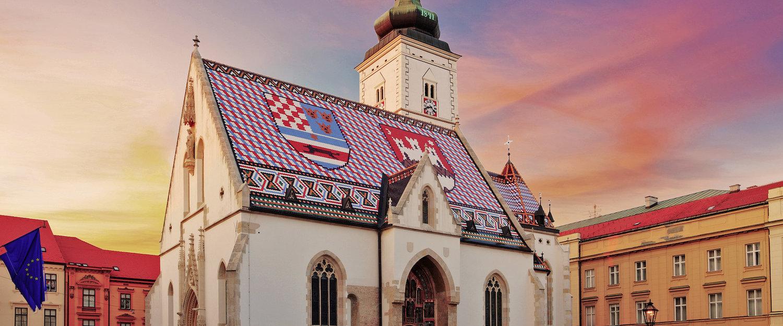 St. Mark's Church in Zagreb