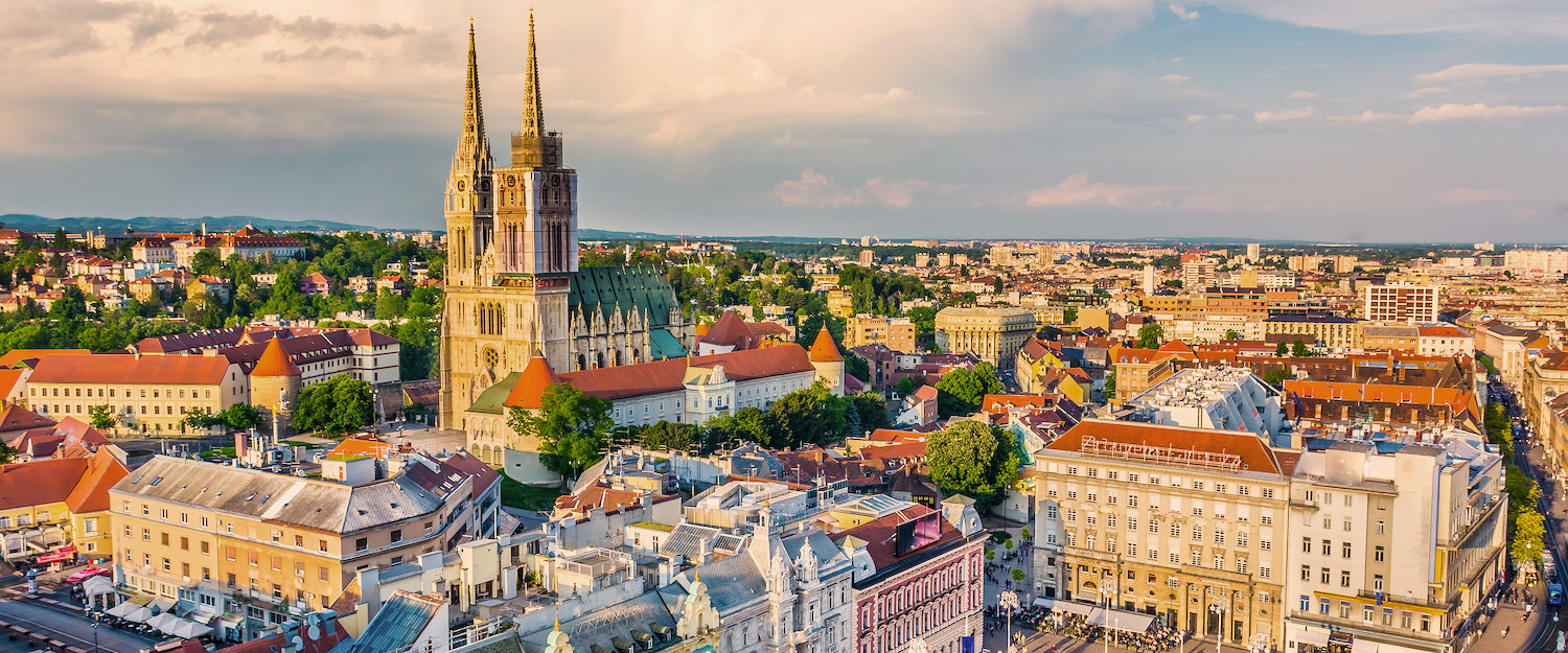 The historical city of Zagreb