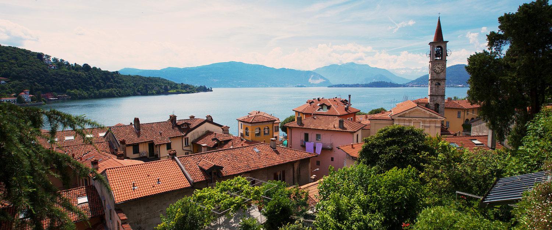 Laveno-Mombello, provincia di Varese, Lago Maggiore.