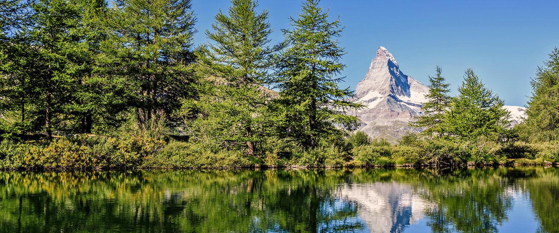 Grindjisee in der Schweiz