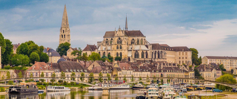 Kathedrale von Auxerre im Burgund