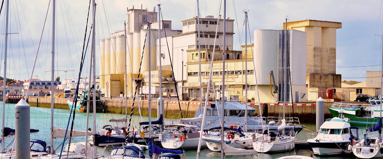 Vue sur port, les Sables-d'Olonne