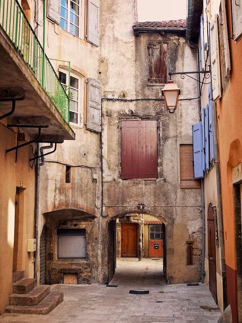 Vue sur rue, les Sables-d'Olonne