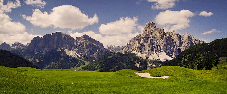 Traumhafte Berglandschaft in Corvara