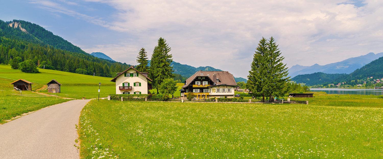 Idyllische omgeving op en in de Weissensee