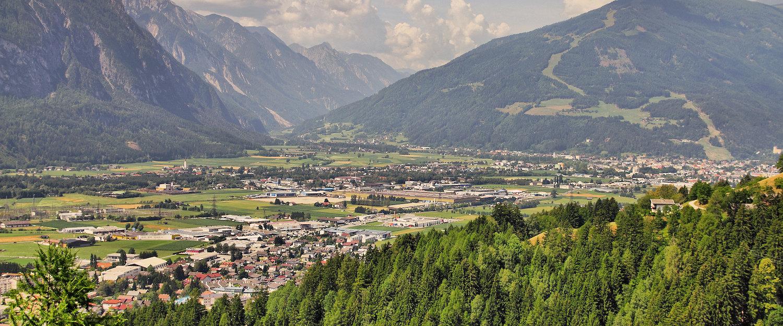 Blick auf das Tal