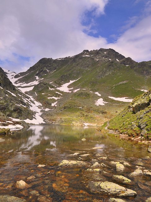 Wunderschöne Landschaft in Serfaus