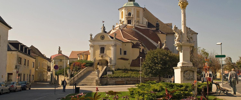 Górski kościół Eisenstadt w Wiedniu