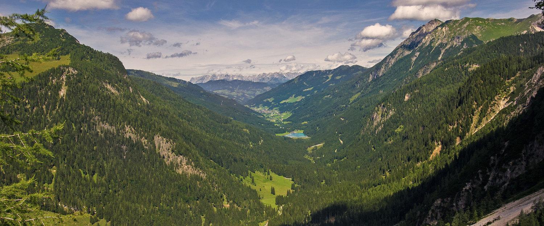 Traumhafte Berglandschaft in Großarl