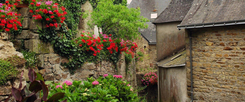Rue fleurie, Morbihan