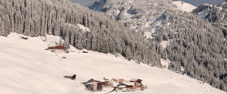 Traumhaftes Schneegebiet für Wintersportler