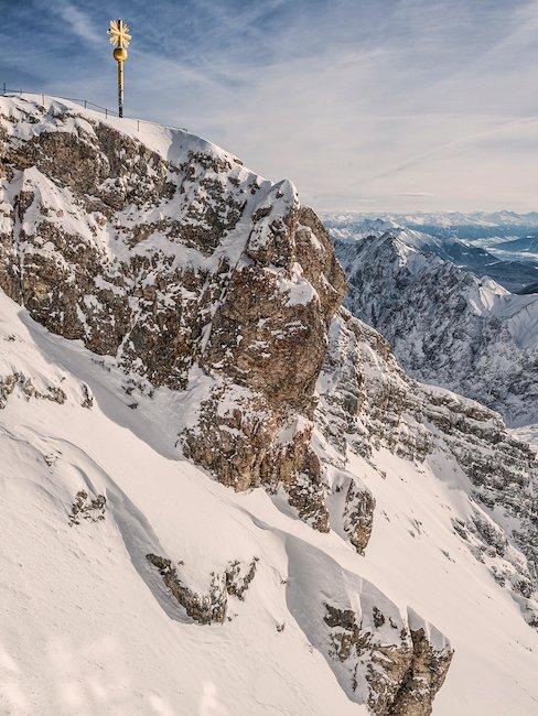 Der höchste Berg in Deutschland: die Zugspitze