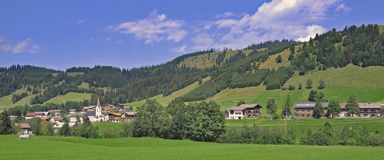 Blick über Tannheim