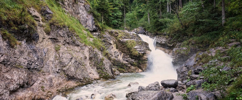 Wasserlauf in Farchant