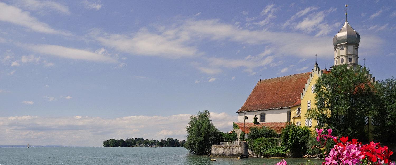 Traumhafter Ausblick über den Bodensee