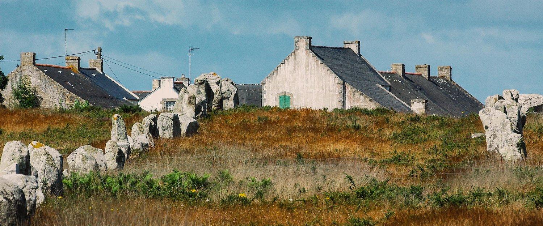 Maisons typiquement bretonnes, Carnac