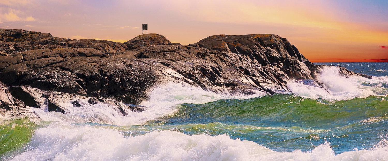Côte sur le Finistère