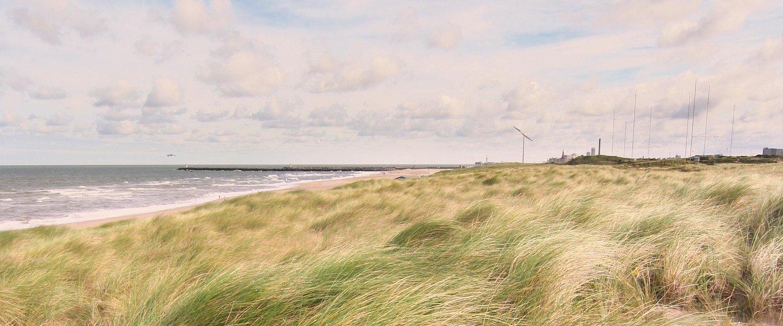 Sanddünen am Strand von Baltrum