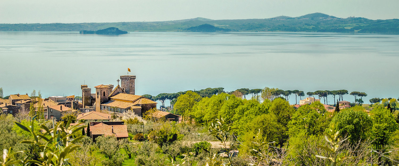 Burg am Bolsenasee in der Provinz Viterbo