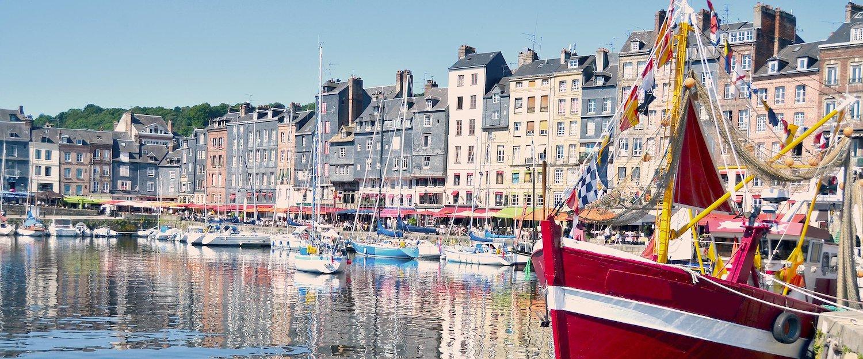 Port dans le Calvados
