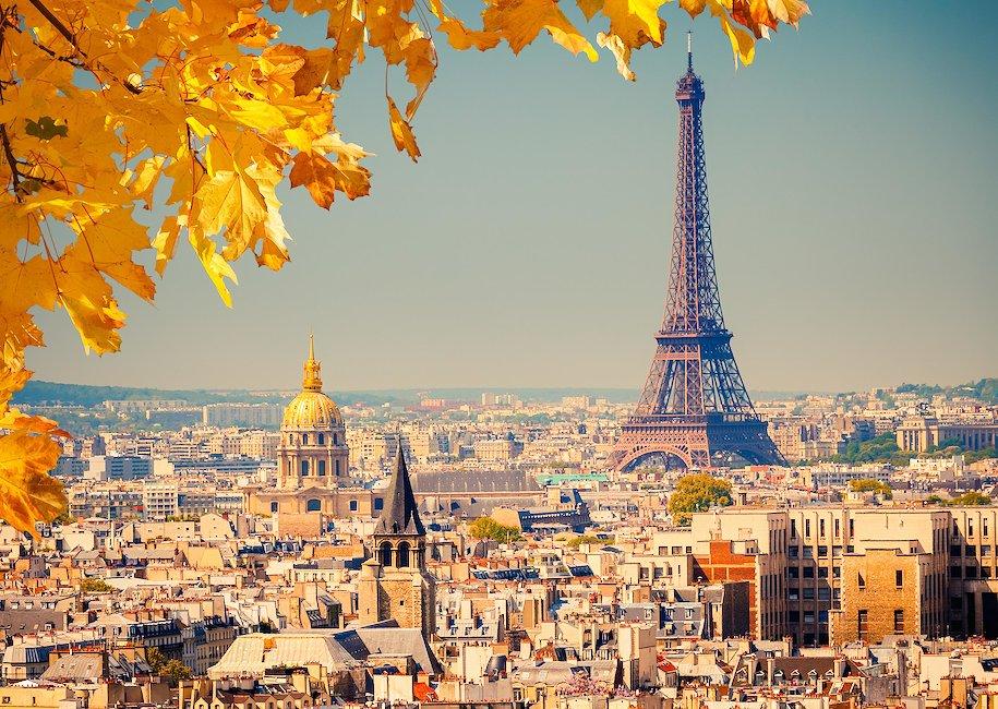 Utsikten over Paris