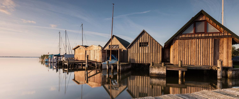Bootshaus in Fischland-Darß-Zingst