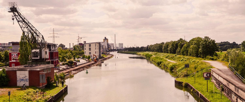 Typische Stadt im Ruhrgebiet