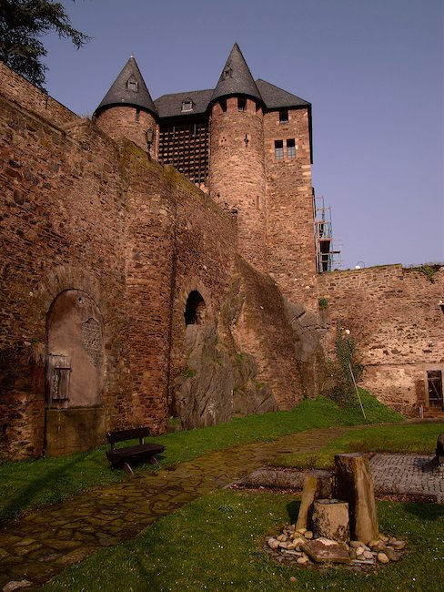 The Hengebach Castle in Heimbach in the Eifel region