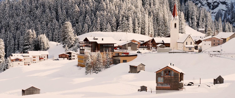 Ferienwohnungen und Ferienhäuser in Warth