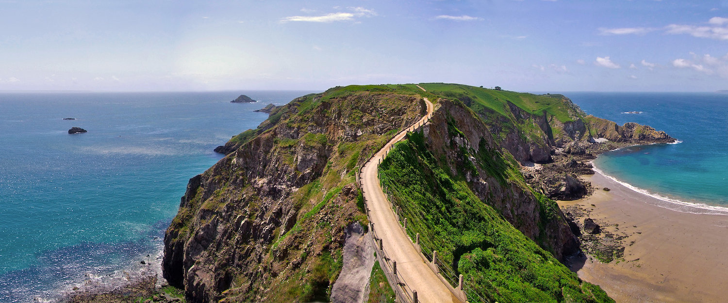 Sark, the fourth largest of the Channel Islands