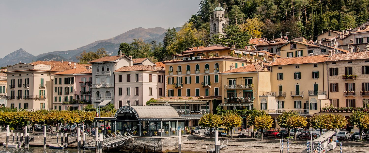 Enjoy the flair of Upper Italy in the town of Bellagio on Lake Como