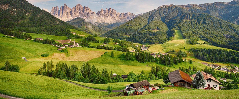 Ferienwohnungen und Ferienhäuser in den Dolomiten