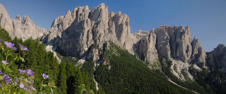 Bergmassiv Rosengarten