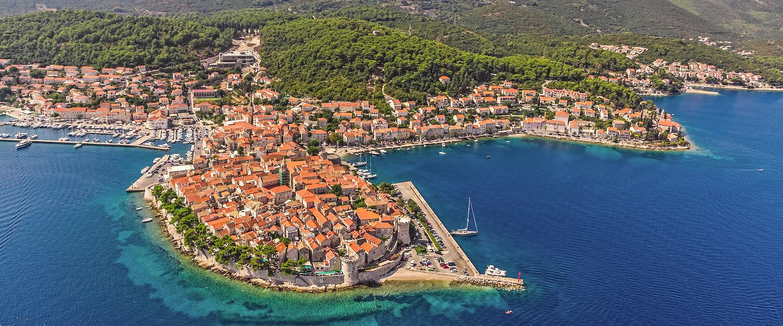 Semesterhus och lägenheter i Korčula