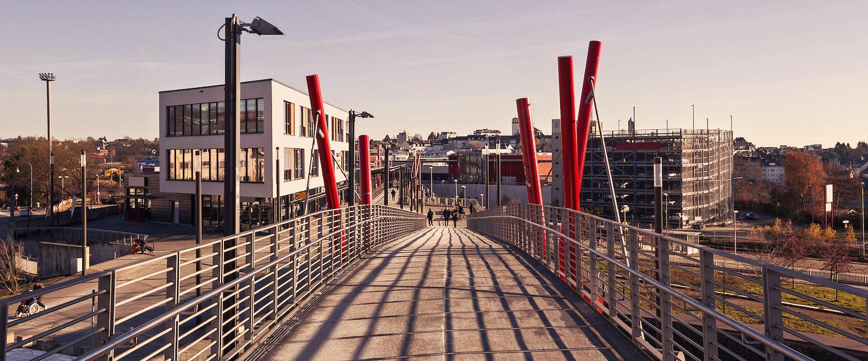 Fußgängerbrücke in Remscheid