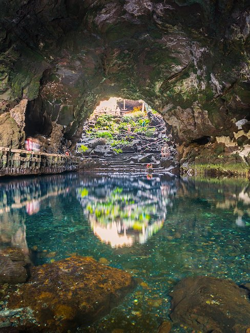 The cave in Jameos del Agua