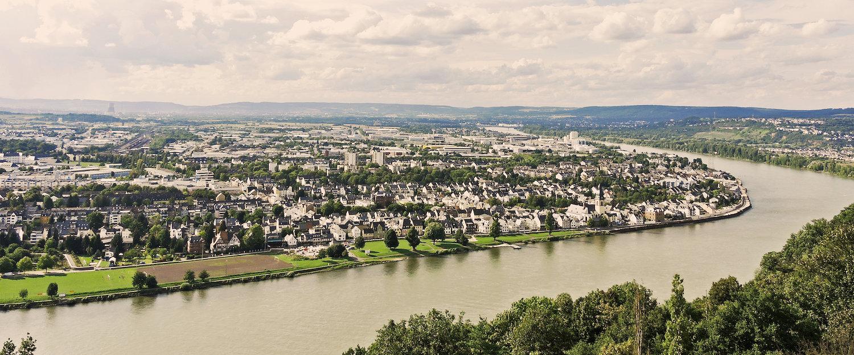 Ausblick über den Rhein