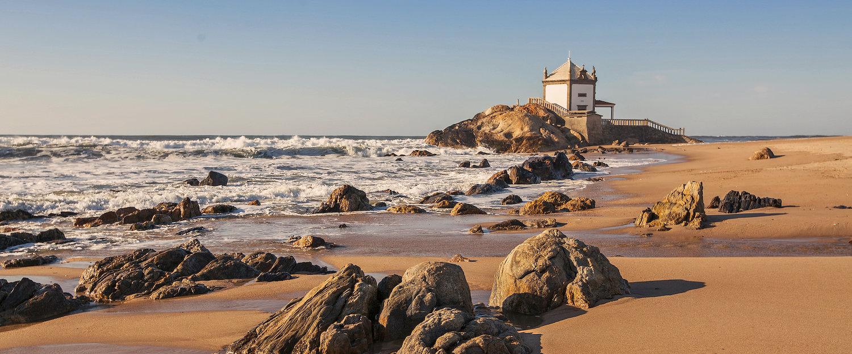Vista da Costa na Região Norte de Portugal