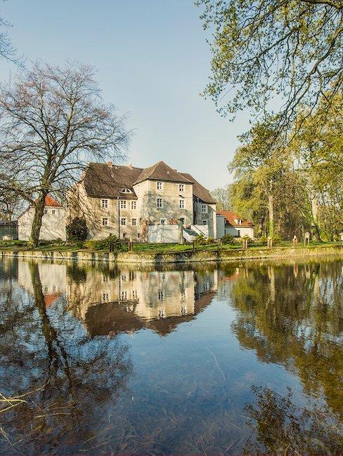 Das Schloss Mellenthin auf Usedom.