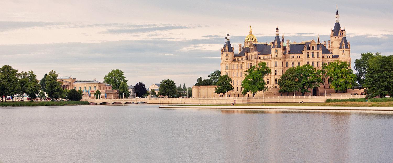 Schweriner See und das Schweriner Schloss