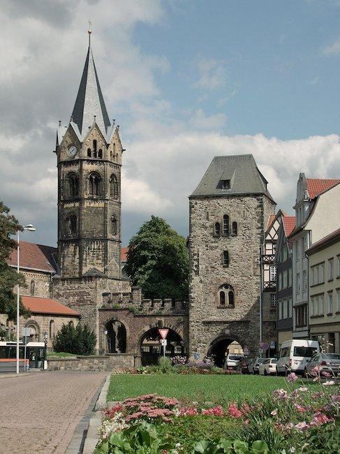 Eisenach stadsplein Eisenach