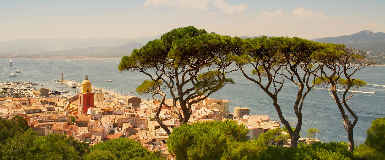 View over Saint-Tropez